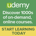 Udemy on-demand online courses